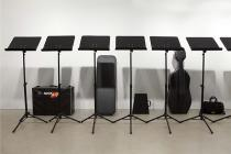 Ari Benjamin Meyers, installation view Songbook, Esther Schipper, Berlin, 2013. Photo: � Andrea Rossetti