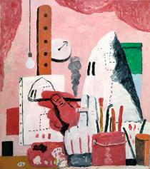 Philip Guston, The Studio, 1969. Private collection � The Estate of Philip Guston