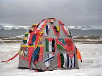 Antarctic Village - No Borders 2007. Courtesy Lucy and Jorge Orta