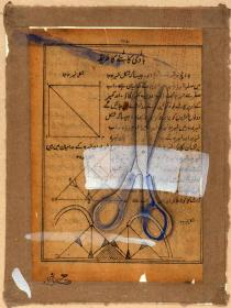 Imran Qureshi, How to cut a brassiere, 2002. Courtesy of the artist and Corvi-Mora, London