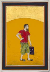 Imran Qureshi, Moderate Enlightenment, 2009. Private Collection, Venice. Courtesy of the artist and Corvi-Mora, London