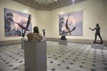 Julian Schnabel: Symbols of Actual Life, installation view, Legion of Honor. Courtesy Fine Arts Museums of San Francisco