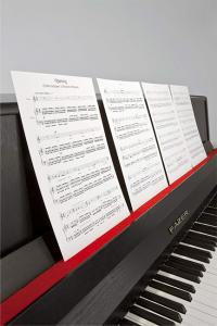 Ari Benjamin Meyers, Songbook (ES 13), 2013, Printed score on paper, music stands, Overall variable, (AM002). Courtesy Esther Schipper, Berlin. Photo: � Andrea Rossetti